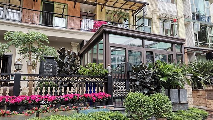 银都花园钢结构住宅