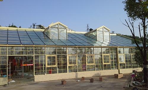 生态农庄钢结构玻璃房